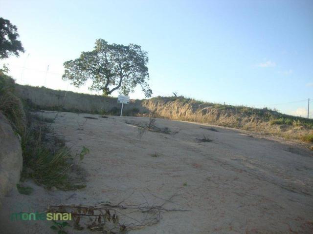 Terreno à venda, 367 m² por R$ 57.000,00 - Condomínio Privê Portal do Agreste - São João/P