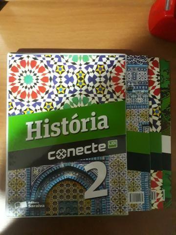 Box livro de história