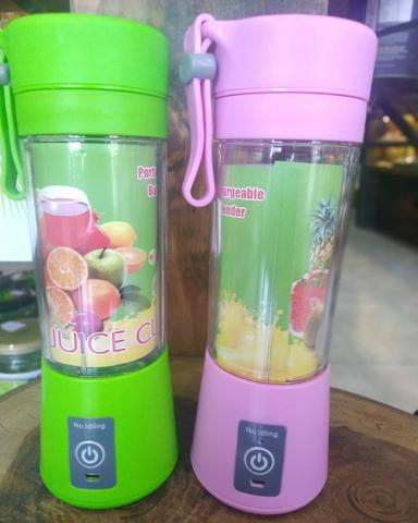 Entrega Grátis Mini Liquidificador Portatil Recarregavel Juice Cup + Usb - Foto 2
