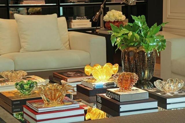 Livros decorativos para mesa de centro - Preços variados