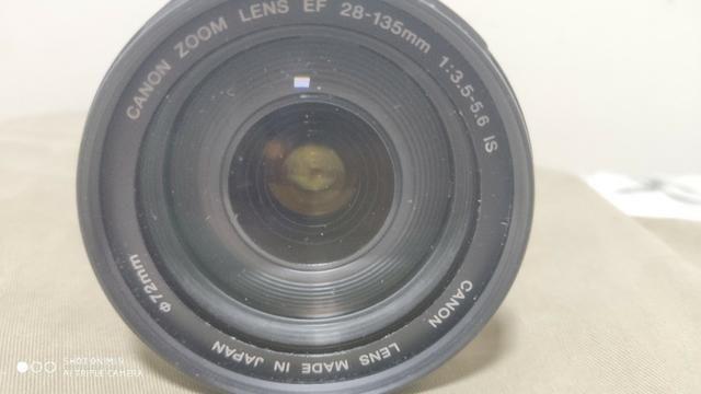 Lente Canon Ef 28mm 135 mm F/3.5-5.6 mm - Foto 3