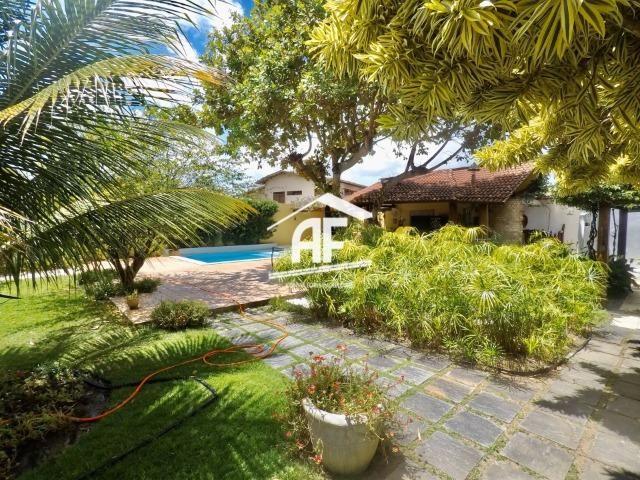 Casa construída em 2 lotes no condomínio Jardim do Horto - Área de lazer completa - Foto 3