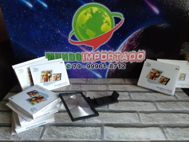 Tela ampliadora 3D pra celular - Foto 4
