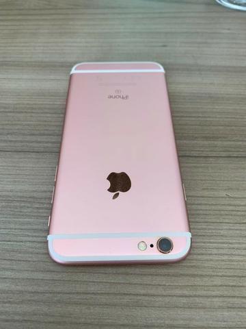 Iphone 6s 128Gb Rose Gold em Perfeito Estado Único Dono - Foto 5