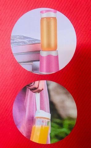 Mini Liquidificador Portátil 60w Usb 380ml Maz-004 - Foto 2