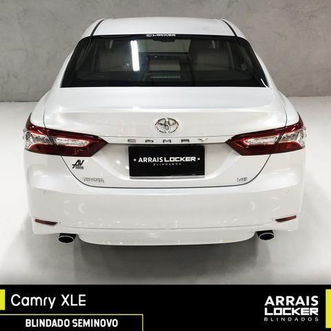 Toyota camry 2018/2018 3.5 xle v6 24v gasolina BLINDADO - Foto 7