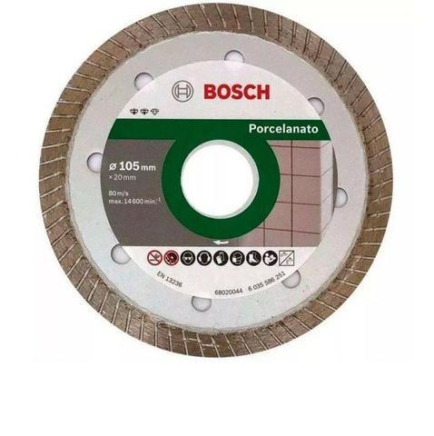 Disco De Corte Diamantado Porcelanato Turbo 105mm 20mm Bosch