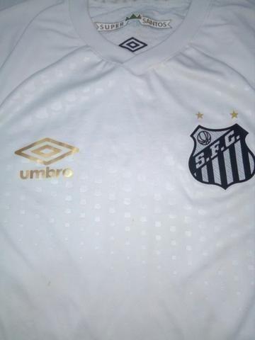 Camisa Santos branca Umbro 2018 - Foto 2