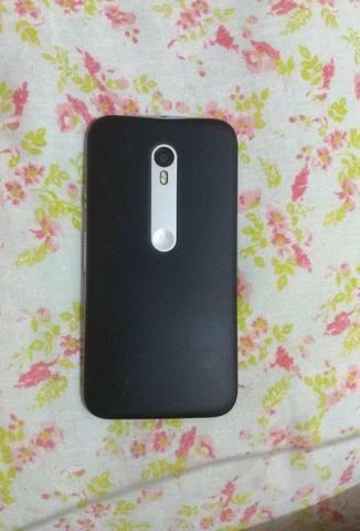 Vendo celular MOTO G3,em perfeito funcionamento,poucas marcas de uso,com película - Foto 2