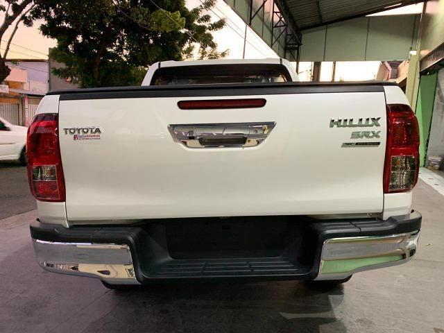 Toyota Hilux SRX 2.8 Branco Perola 2020 0KM - Foto 6