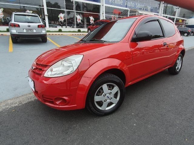 Fodr ka class 2011 vermelho ac troca e financio sem entrada confira