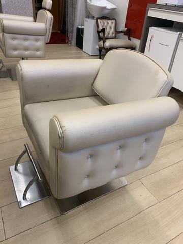 Cadeira Cabeleireiro - Foto 2