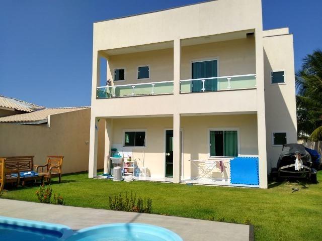 Casa Duplex nova 5/4, varandas, piscina, churrasqueira. Barra do Jacuípe. Oportunidade - Foto 4