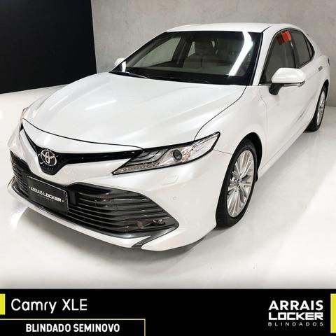Toyota camry 2018/2018 3.5 xle v6 24v gasolina BLINDADO - Foto 2