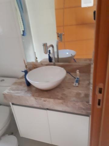 Casa moderna Vicente Pires platibanda lazer completo armários pé direito duplo IPTU - Foto 8