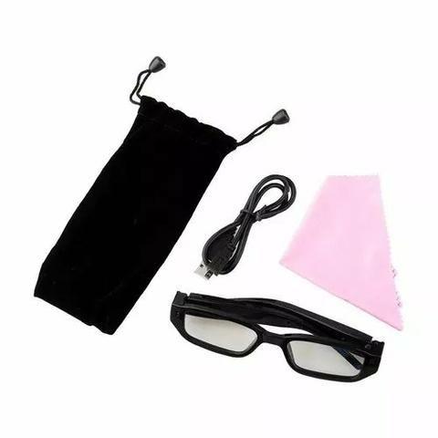 Flagra Mini Óculo 8gb Óculos Espião Com Câmera Escondida - Áudio, TV ... 4a520e7613