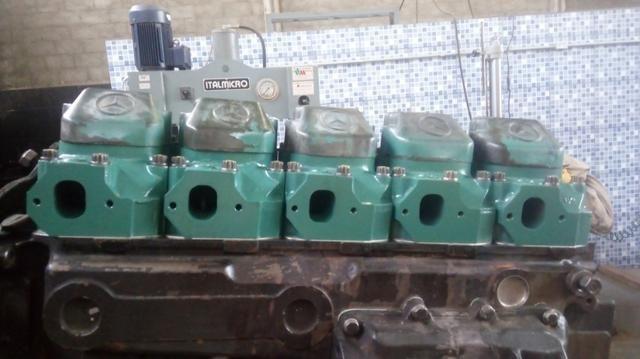 Motor MB O400 449 5 cilindros - Foto 3