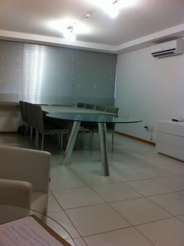 Sala mobiliada design super moderno