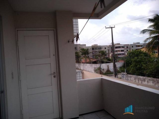 Apartamento com 3 dormitórios para alugar, 80 m² por R$ 859,00/mês - Icaraí - Caucaia/CE - Foto 8