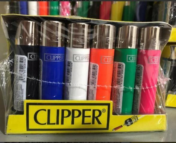 Isqueiros da Clipper recarregáveis Só 2,20 - Foto 2