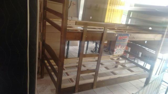 Biel Móveis Beliche de madeira, pinho, envernizada, nova a partir de 250 - Foto 3