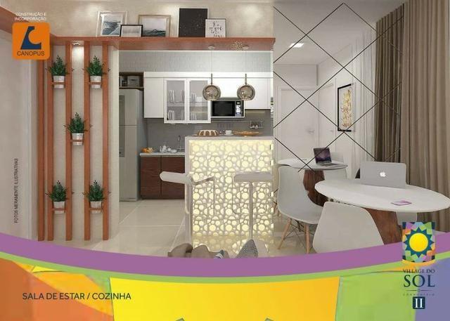 09-Village do Sol 2, apartamento na Estrada da Maioba - Foto 2