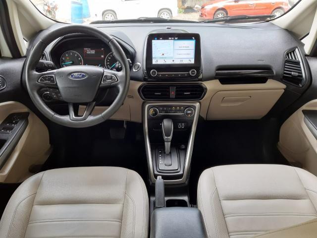 Ford 2018 Ecosport titanium Automatico completa branca apenas 15000 km impecável - Foto 7
