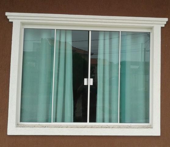 Molduras em Concreto para janelas