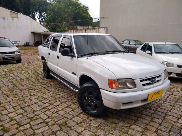 S10 Cabine Dupla 2.2 Gasolina/GNV 1998 - Foto 3