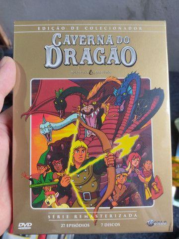 Dvd caverna do dragão edição de colecionador