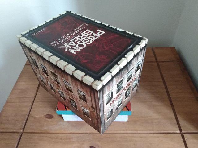 Box dvd Prison Break - Coleção Completa