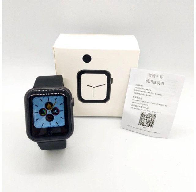 D28 Smartwatch Frequencia Cardiaca Pressao Arterial - Foto 2