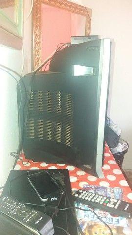 Vendo 300 $ completinha com antena,Receptor e controle - Foto 3