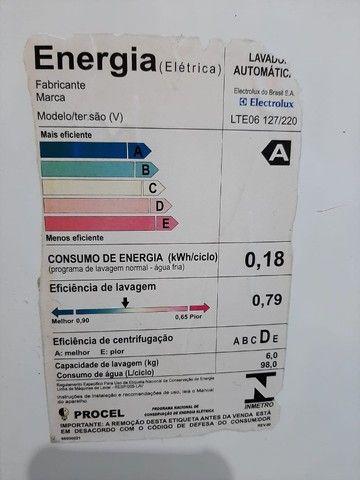 Máquina de lavar Eletrolux turbo 6k - Foto 3