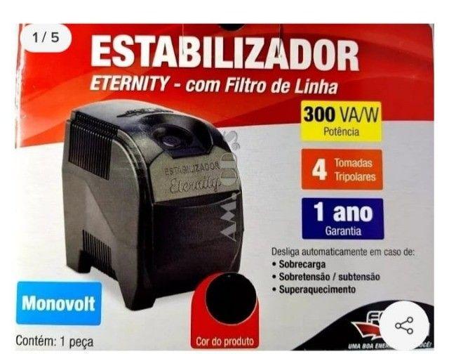 Estabilizador com filtro de linha Eternity