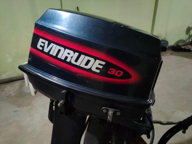 Motor popa Everund 30HP Elétrico  - Foto 2