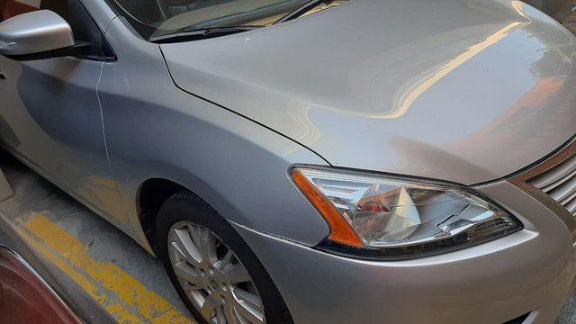 Sentra S 2014 80.000 Km RARIDADE Segundo Dono Manual e Chave Reserva - Foto 3