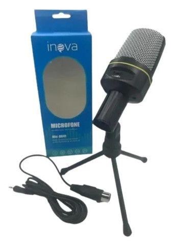 Microfone Condensador Multimídia Mic-8641 Youtuber Vozes - Foto 4