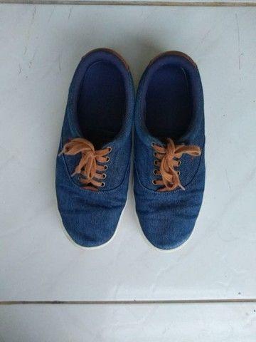 Tênis Masculino Polo Azul Jeans -Tam 40 - Foto 2