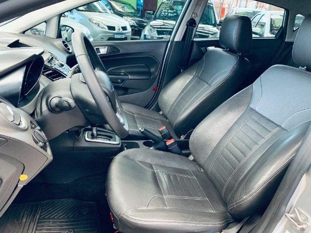 Ford / New Fiesta Titanium Hatch 1.6 Flex (Automático + Couro) - Foto 8