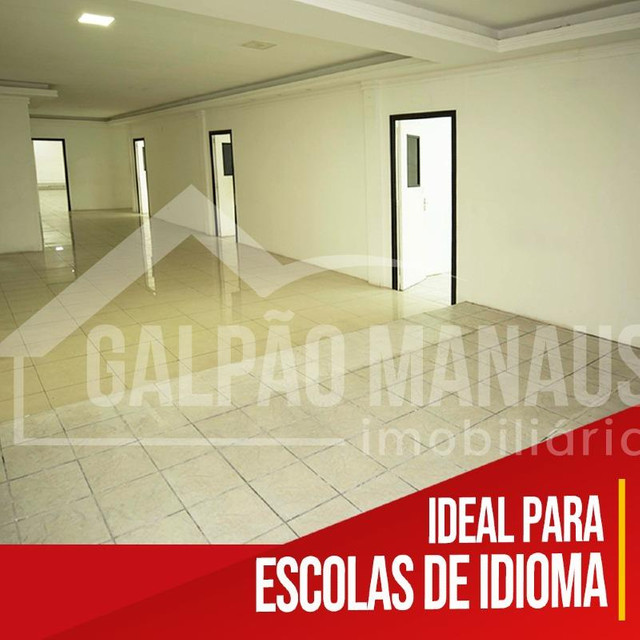 Galpão Manaus - Prédio Comercial - 570 m² - Djalma Batista - PRL124