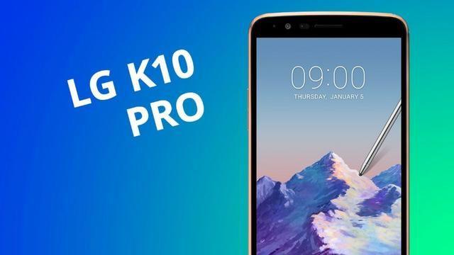 LG K10 Pro Lançamento 5.7