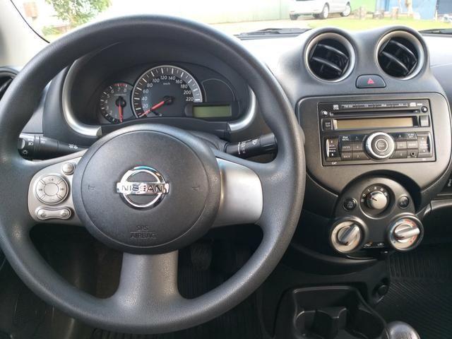 Nissan march 1.6 sv flex novissimo - Foto 6