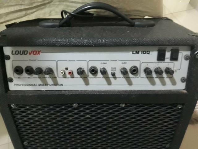 Vendo Guitarra Memphis By Tagima e Caixa de Som Loud Vox - Foto 3