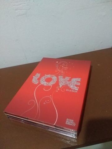 Box com 6 cd's Românticos nunca usado - Foto 3