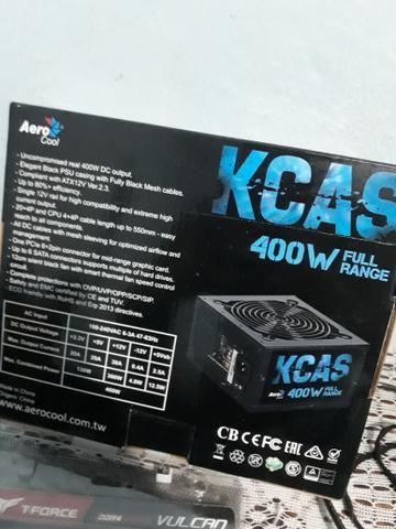 Fonte de alimentação Kcas Full range Nova para PC - Foto 2