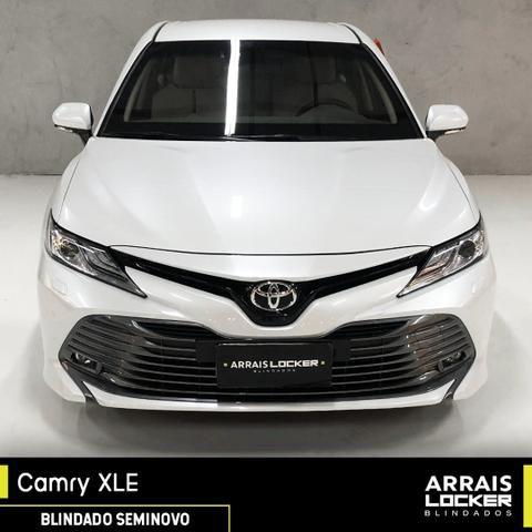 Toyota camry 2018/2018 3.5 xle v6 24v gasolina BLINDADO