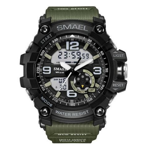 Relógio S-shock Militar Masculino Resistente Esportivo Robusto - Foto 2