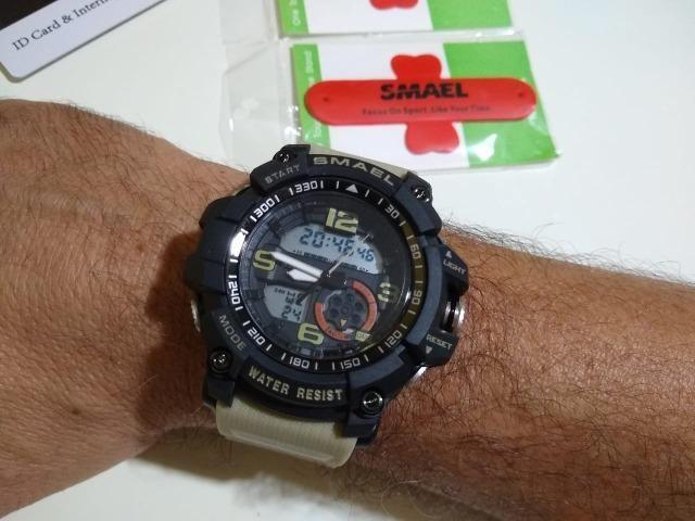 Relógio S-shock Militar Masculino Resistente Esportivo Robusto