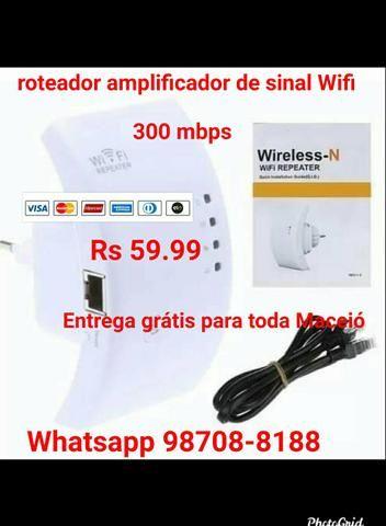 Roteador amplificador de sinal Wifi